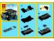 Instruction No: 7602  Name: Black SUV polybag