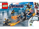 Instruction No: 76123  Name: Captain America: Outriders Attack