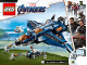 Instruction No: 76126  Name: Avengers Ultimate Quinjet