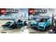 Instruction No: 76898  Name: Formula E Panasonic Jaguar Racing GEN2 Car & Jaguar I-PACE eTROPHY