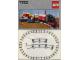 Instruction No: 7722  Name: Steam Cargo Train, battery