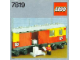Instruction No: 7819  Name: Postal Container Wagon Covered
