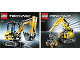 Instruction No: 8047  Name: Compact Excavator