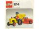 Instruction No: 814  Name: Gear Farm Set