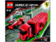 Instruction No: 8153  Name: Ferrari F1 Truck 1:55