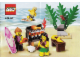 Instruction No: 850449  Name: Minifigure Beach Accessory Pack blister pack