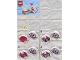 Instruction No: 853875  Name: Sweet Mayhem's Disco Pod blister pack