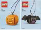 Instruction No: 854049  Name: Pumpkin & Bat Duo