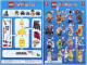 Instruction No: 8684  Name: Minifigure, Series 2 (Complete Random Set of 1 Minifigure)