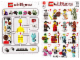 Instruction No: 8827  Name: Minifigure, Series 6 (Complete Random Set of 1 Minifigure)