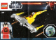 Instruction No: 9674  Name: Naboo Starfighter & Naboo