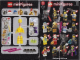 Instruction No: col08  Name: Santa, Series 8 (Complete Set with Stand and Accessories)