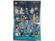 Instruction No: coltlbm2  Name: Clock King, The LEGO Batman Movie, Series 2 (Complete Set with Stand and Accessories)