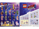 Instruction No: coltlm2  Name: Flashback Lucy, The LEGO Movie 2 (Complete Set with Stand and Accessories)