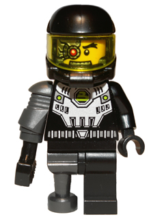 genuine lego minifigures the  space villian from series 3