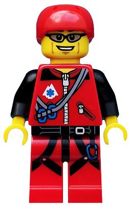 Lego Figur Serie 11 Bergsteiger Mountain Climber Minifig