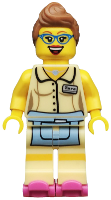 LEGO SERIES 11 DINER WAITRESS MINT CONDITION