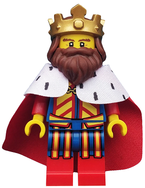 Classic King *NEW* Lego Minifigures Series 13