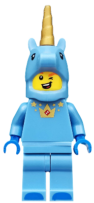 Triangular Shield Only! Lego Collectible Minifigures Series 18 Unicorn Guy
