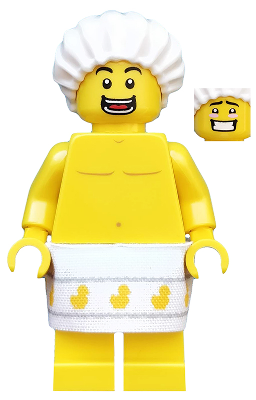 Free Post Shower Guy Brand New Minifigure LEGO Minifigures Series 19 #2