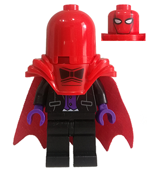 LEGO-MINIFIGURES SERIES THE BATMAN MOVIE X 1 LEGS FOR THE RED HOOD PART
