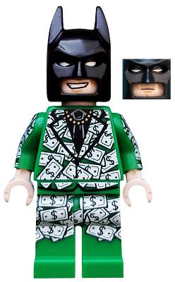 Lego Figure Dollar Bill Tuxedo Batman coltlbm21