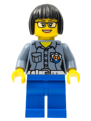 LEGO® City 60169 Bürokraft Minifigs cty801