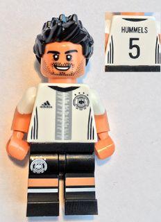 Bricklink Minifig Dfb004 Lego Mats Hummels 5 Minifigure Only