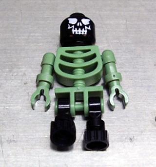 Lego Skeleton Black 4766 Evil Skull Harry Potter Minifigure