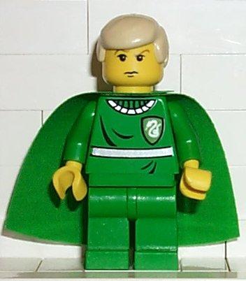 Lego ® harry potter personaje-Draco Malfoy con abrigo de set 4735