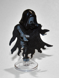 Lego Harry Potter Figur Dementor mit Umhang