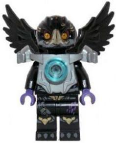 LEGO MINIFIGURE LOC002 RAZCAL LEGENDS OF CHIMA