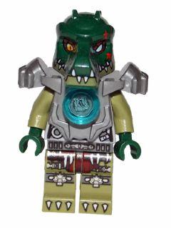 LEGO Heavy Armor Cragger Mini Figure // Mini Fig The Legend of Chima