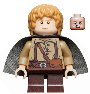 Bricklink Minifig Lor004 Lego Samwise Gamgee The Hobbit And The Lord Of The Rings The Lord Of The Rings Bricklink Reference Catalog