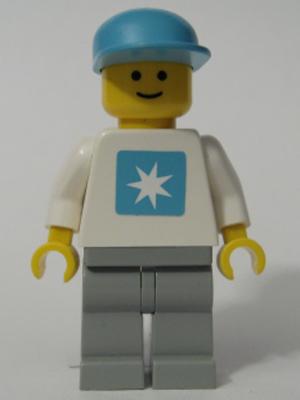 LEGO BLUE CAP FOR  MINIFIGURE  BRAND NEW