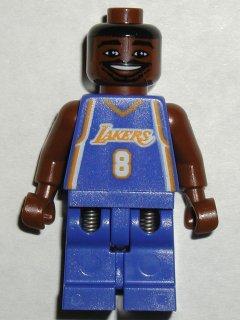 BrickLink - Minifig nba035 : Lego NBA Kobe Bryant, Los