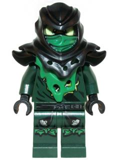 Bricklink Minifig Njo154 Lego Evil Green Ninja Morro