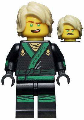 BrickLink - Minifig njo311 : Lego Lloyd - Hair, The LEGO Ninjago ...