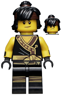 genuine lego minifigures the cole from ninjago movie series