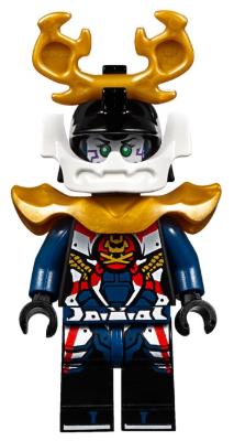 Bricklink Minifig Njo390 Lego Samurai X Pixal Sons Of