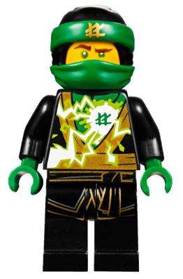half off cheapest new authentic BrickLink - Minifig njo403 : Lego Lloyd (Spinjitzu Masters ...