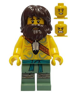 LEGO  1 Lego Mini Figur Njo 638 Bolobo mit Zubehör Neu