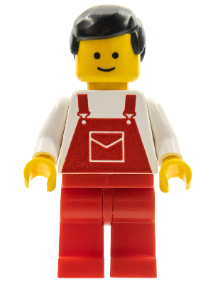 Classic Town Overalls ovr010 Lego Minifigures