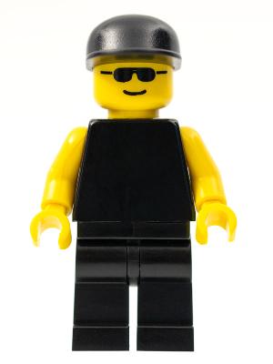 Lego Minifigure Classic Town Plain Black Torso Pln040