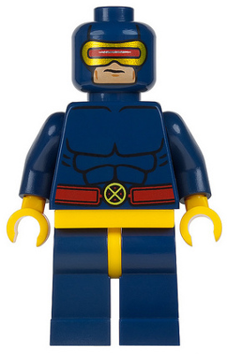 New Custom Cyclops Minifigure Sealed Marvel Minifig X-Men Building Toy