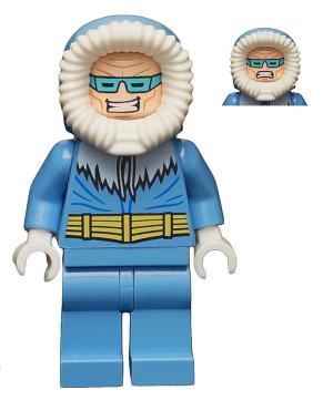 Bricklink Minifig Sh148 Lego Captain Cold Super Heroes Justice League Bricklink Reference Catalog