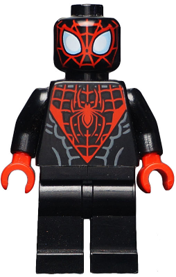 Bricklink Minifig Sh190 Lego Spider Man Miles Morales Super