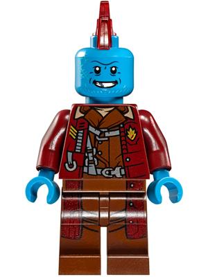 New Custom LEGO Minifigure Marvel Superhero Yondu Guardians Of The Galaxy