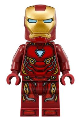 BrickLink - Minifig sh496 : Lego Iron Man Mark 50 Armor