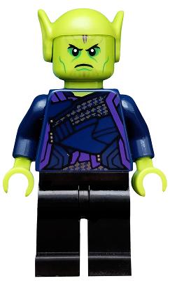 Bricklink Minifig Sh553 Lego Talos Skrull Super Heroes